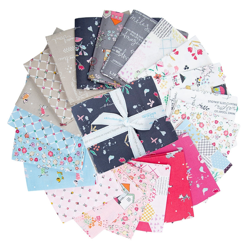 Moments Collection Fat Quarter Pack 21 pc