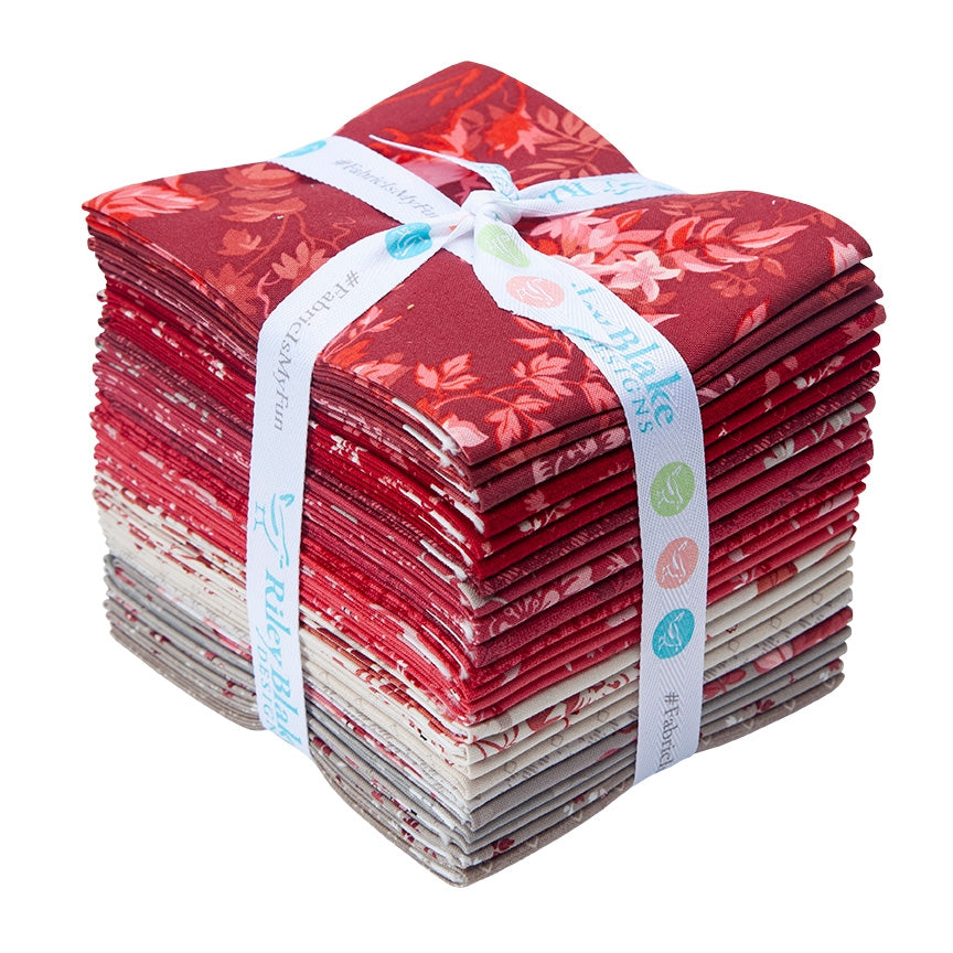 Red Elegance Fat Quarter Pack