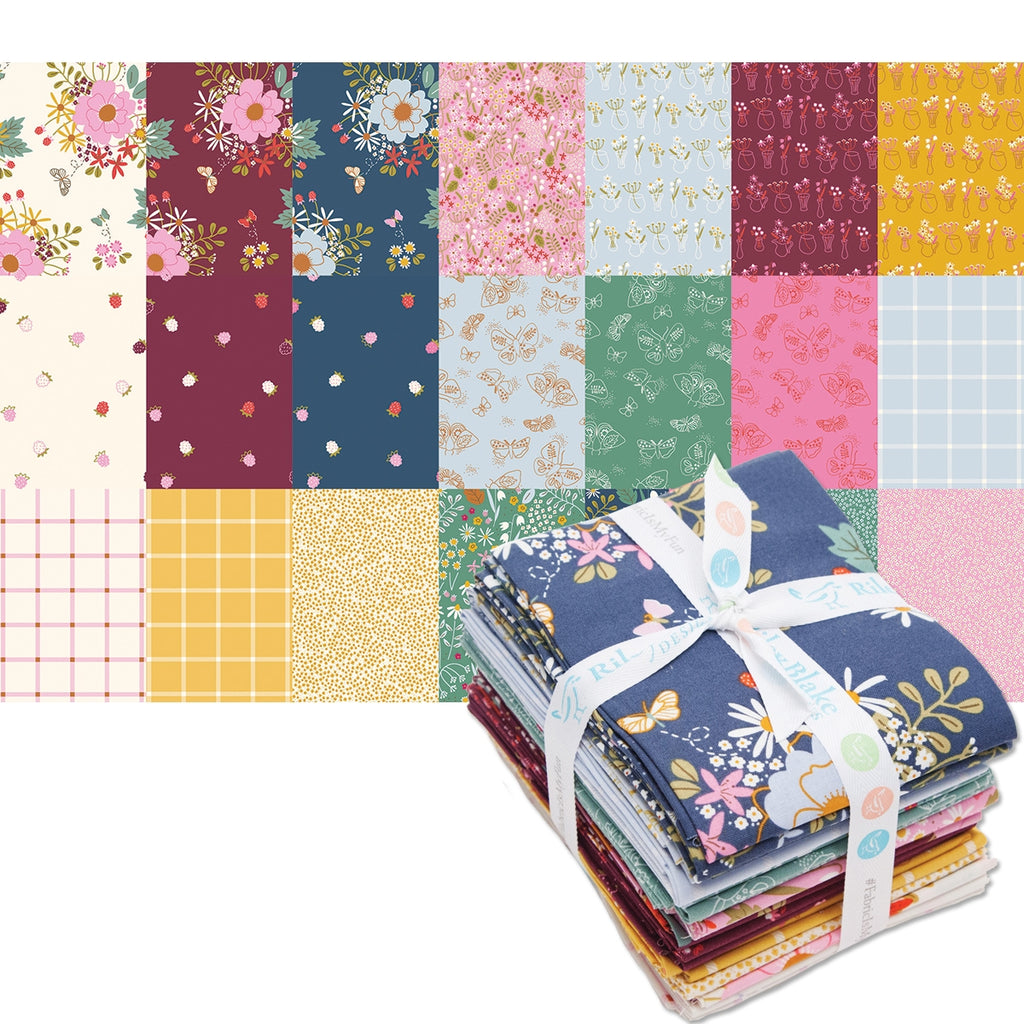Wild Bouquet Fat Quarter Pack