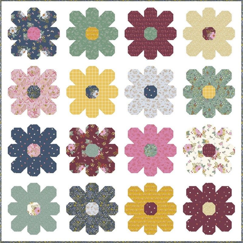 Wild Bouquet Quilt Top Kit