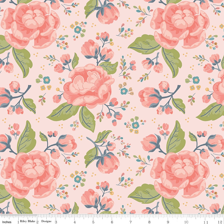 Charmed Main Pink Fabric