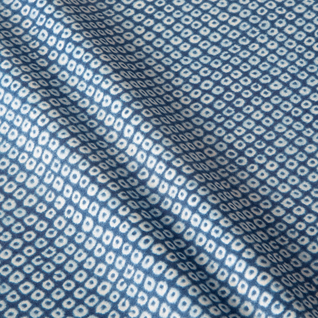 Shibori Blues Diamond Fabric
