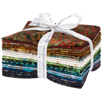 Robert Kaufman, By The Brook Batik Fat Quarter Pack