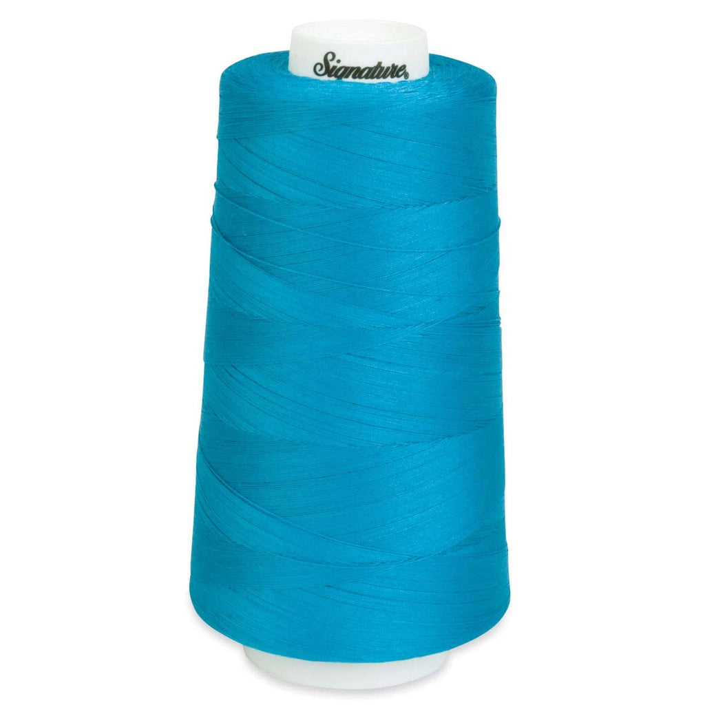 Turquoise A & E 40 Wt. Signature Quilting Thread