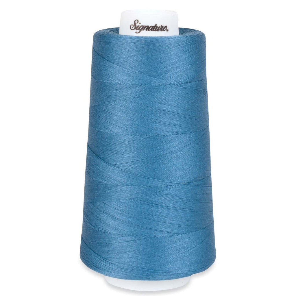 Stone Blue A & E 40 Wt. Signature Quilting Thread
