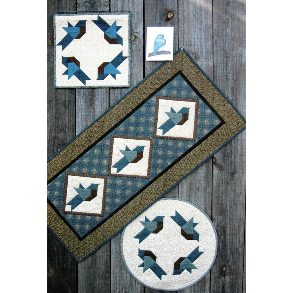 Bluebird Quilts Pattern and Greeting Card