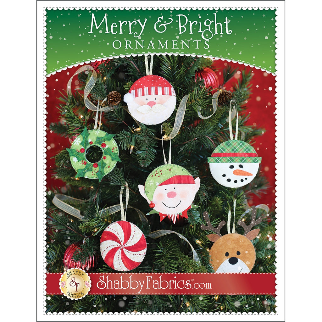 Merry and Bright Ornaments Pattern