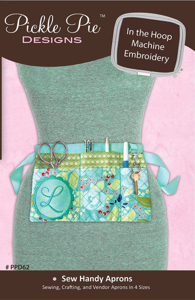 In the Hoop Sew Handy Aprons Embroidery Starter Kit