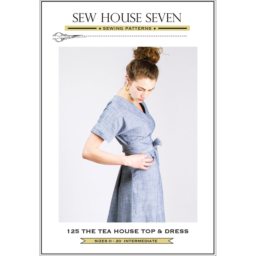 The Tea House Top & Dress Pattern