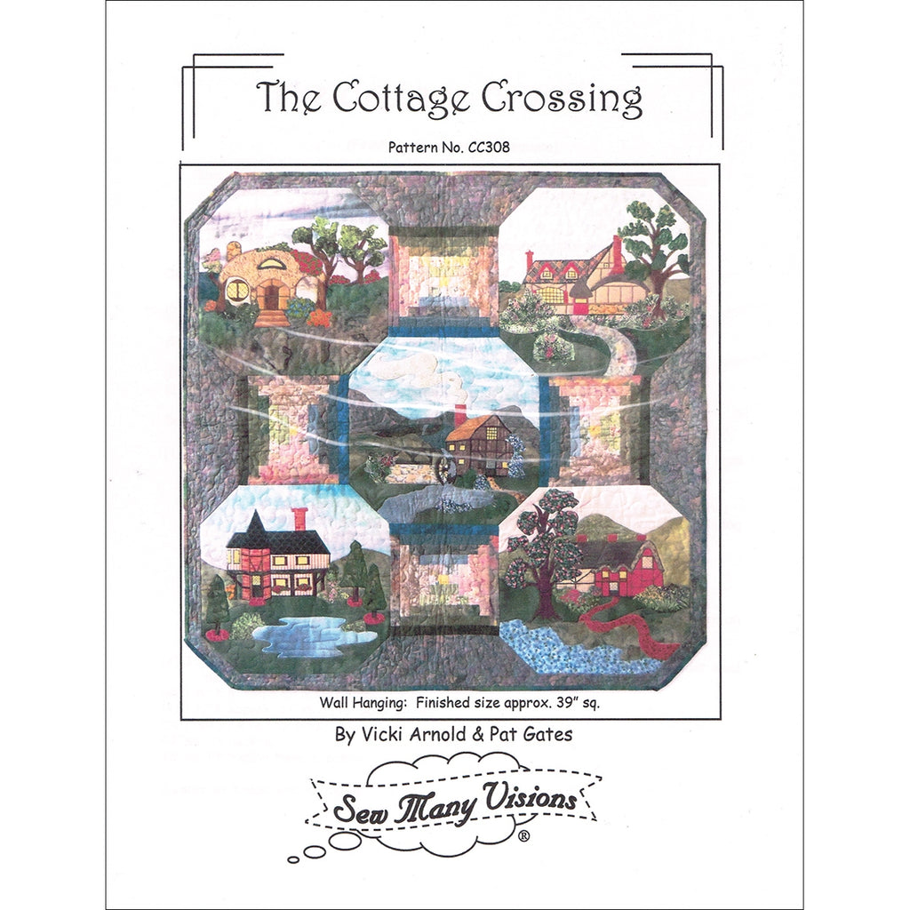 The Cottage Crossing Quilt Pattern