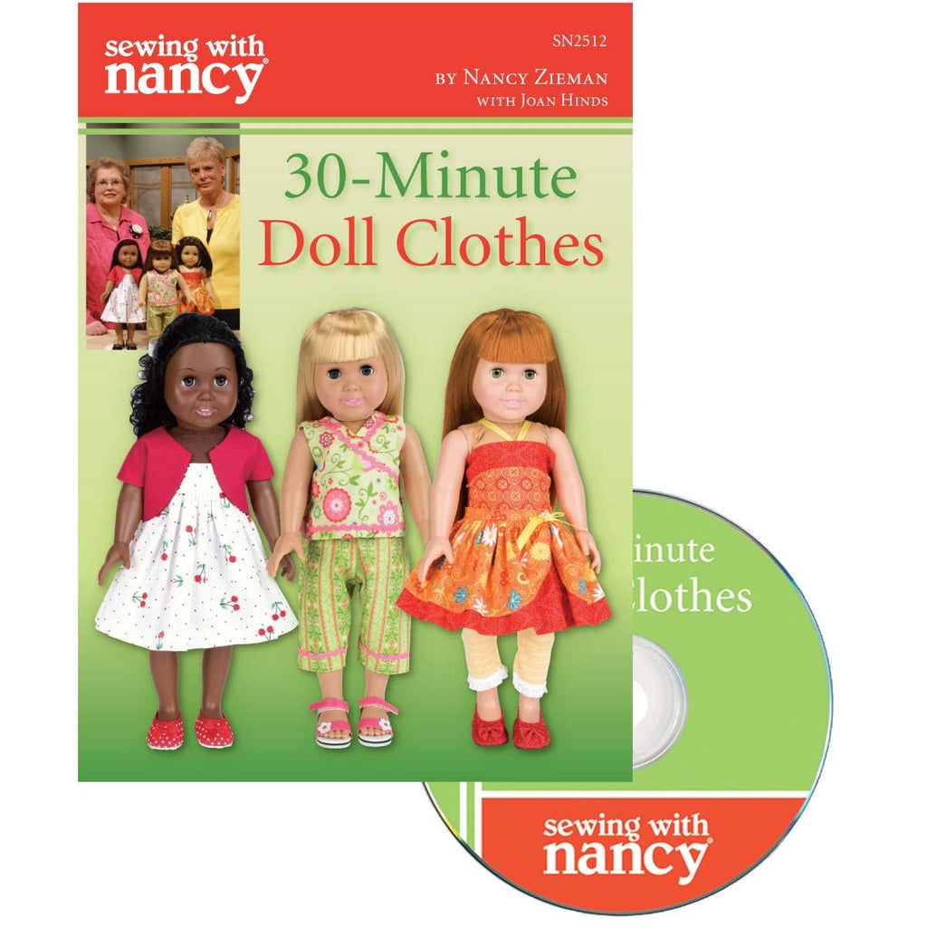 30 Minute Doll Clothes DVD