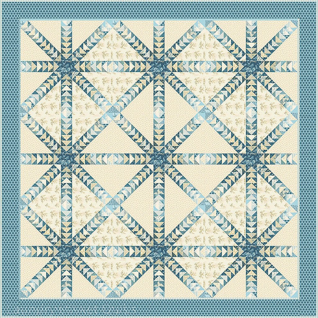 Something Blue Quilt Top Kit