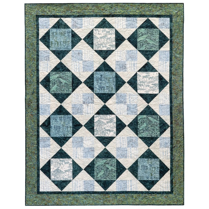 Square Dancer Quilt Top Kit