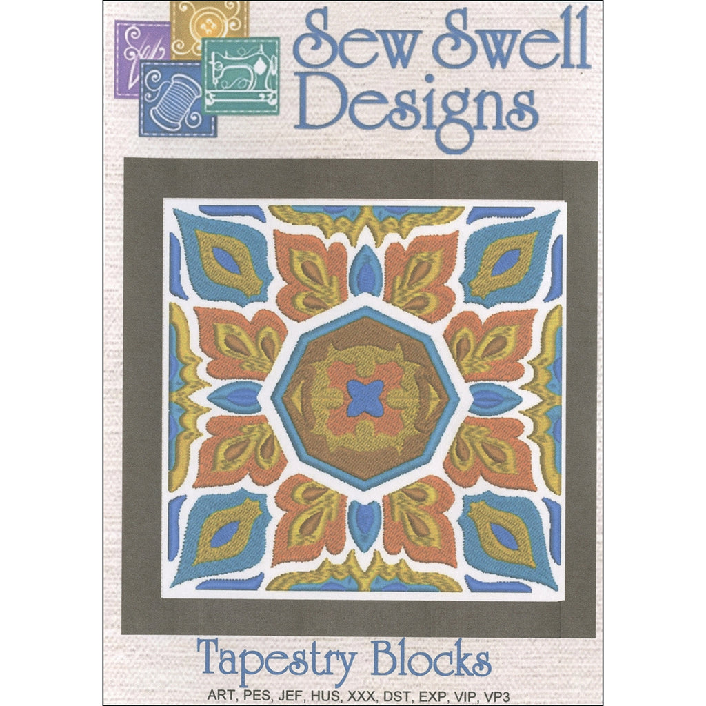 Tapestry Blocks Embroidery Designs