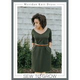 Meridan Knit Dress Pattern