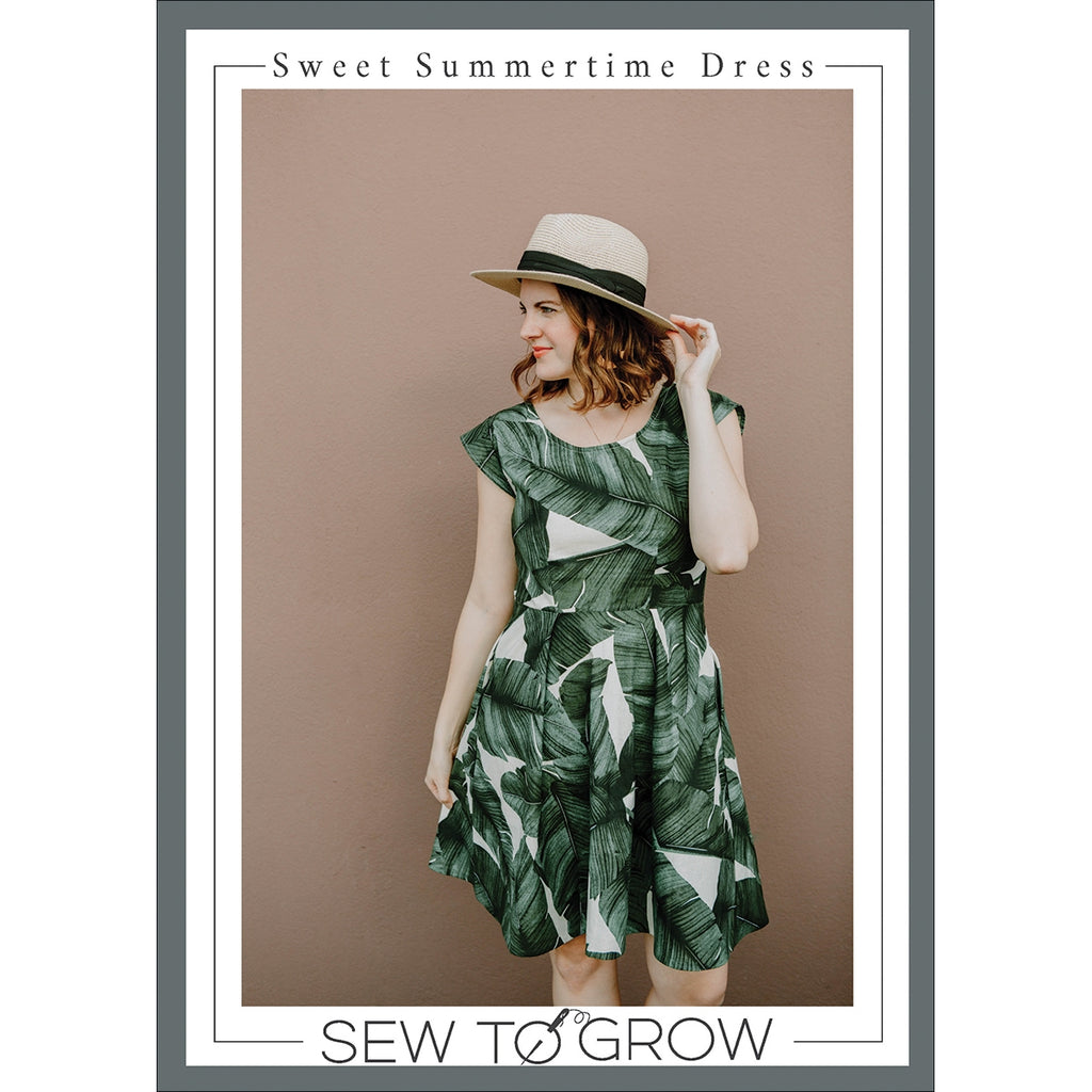 Sweet Summertime Dress Pattern