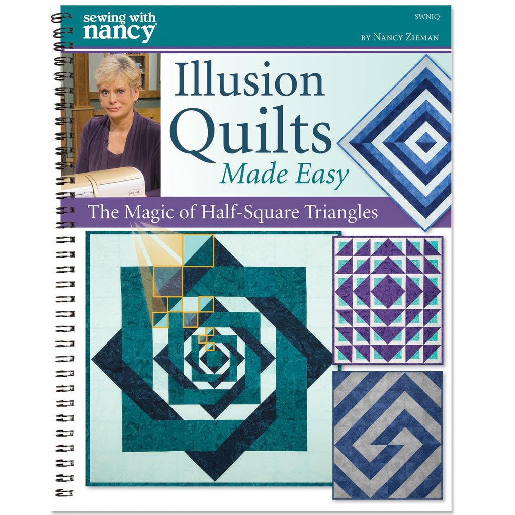 Illusion Quilts Made Easy Book