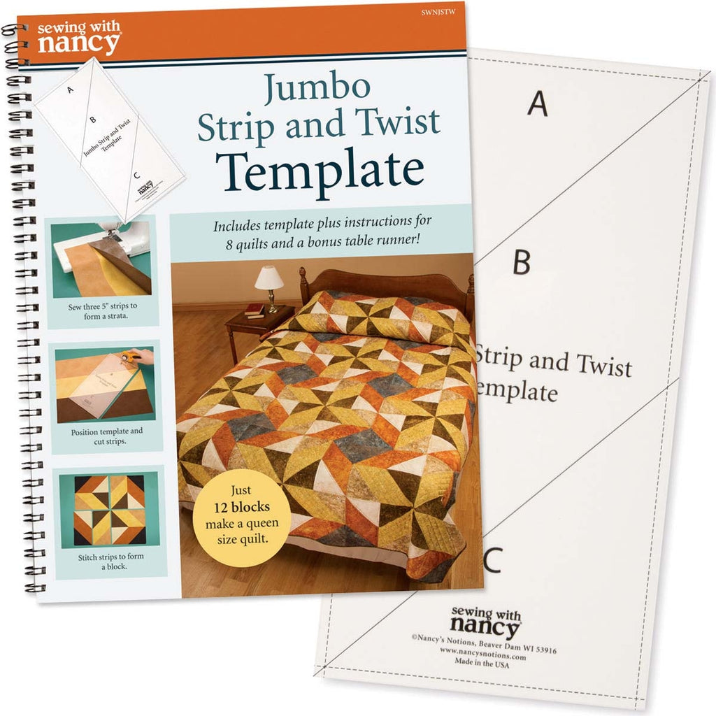 Jumbo Strip and Twist Template and Book