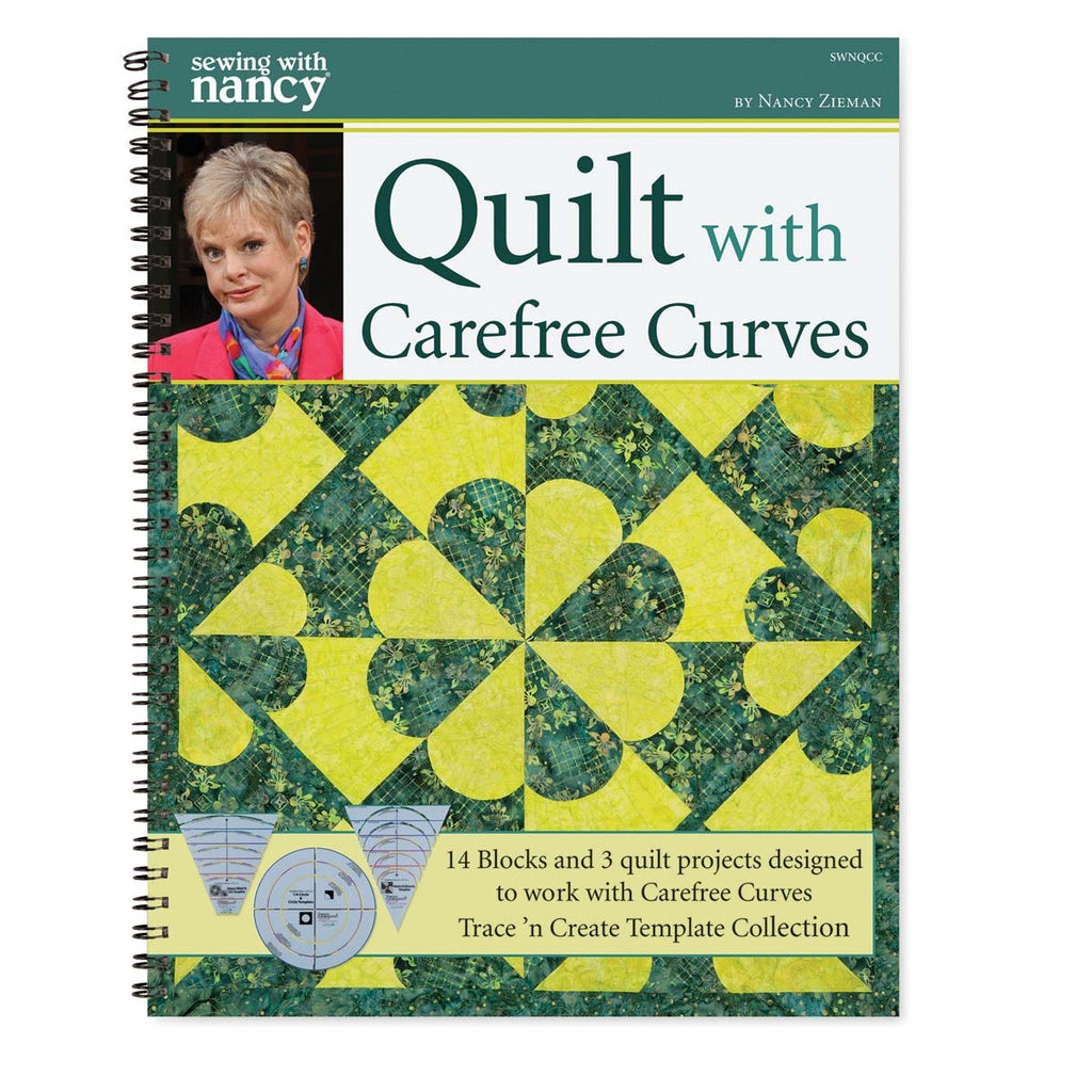 Quilt with Carefree Curves Book