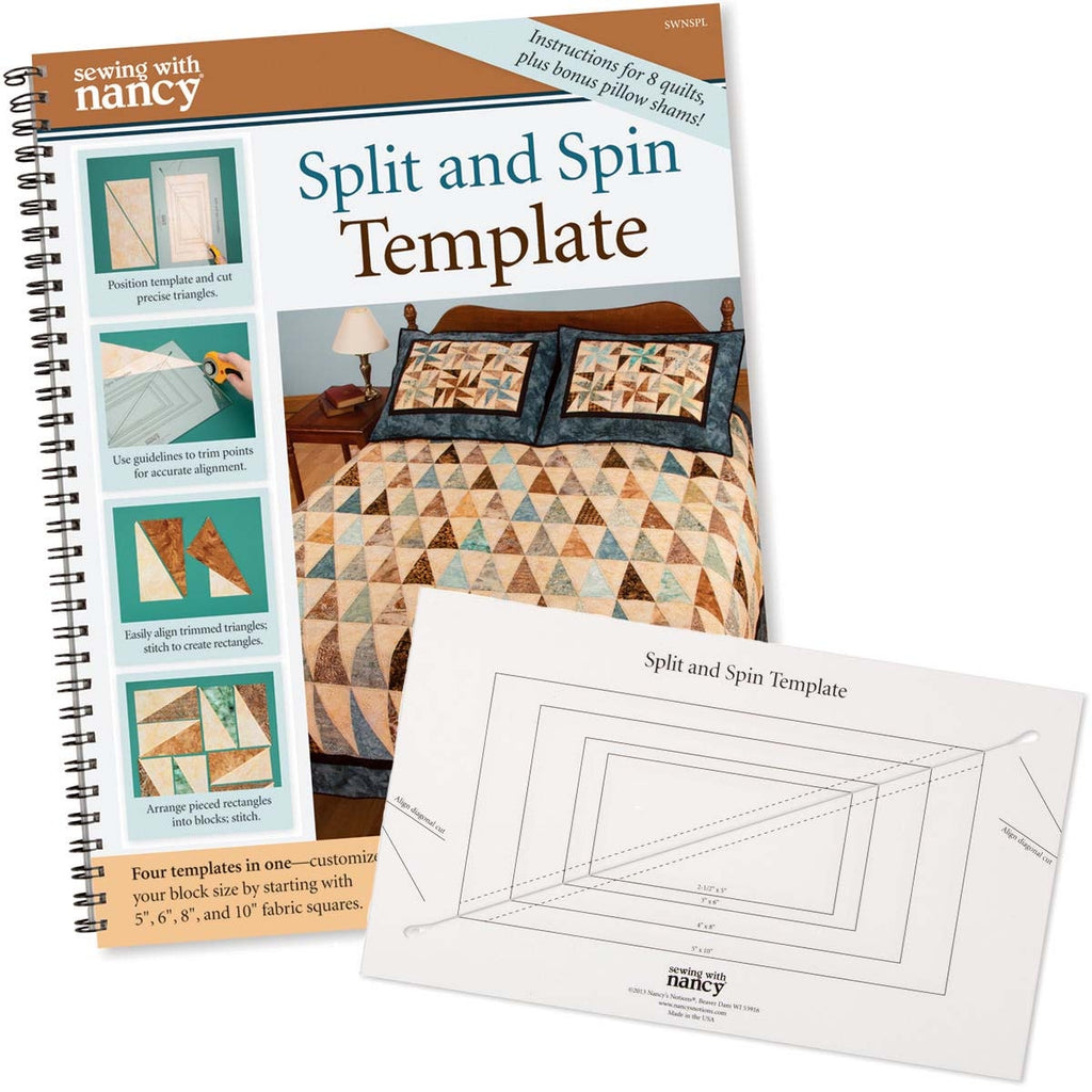 Split and Spin Template and Book