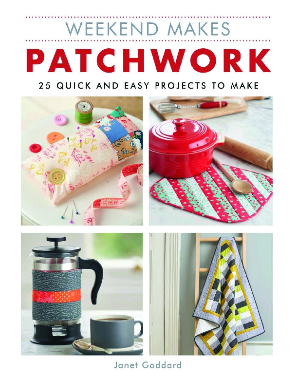 Weekend Makes Patchwork Book