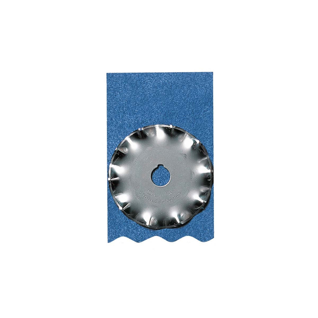 Olfa Rotary Cutter 45 mm Wave Refill Blade