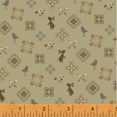 French Armoire Small Friends Fabric
