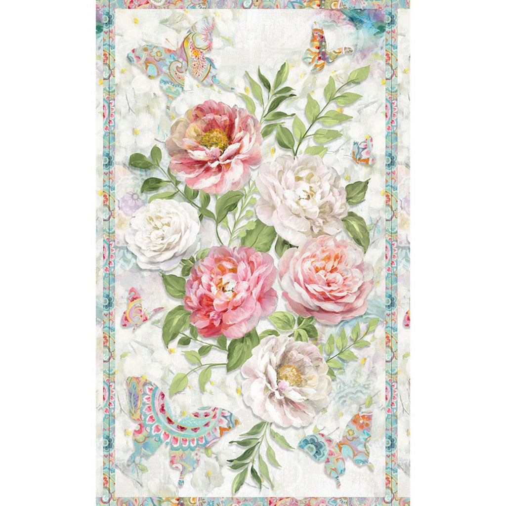 Wilmington Prints, Wild Blush Fabric Panel