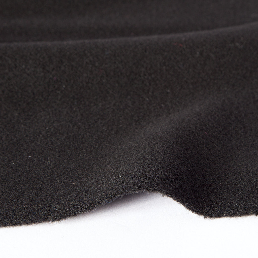Black Wool Fabric Fat Quarter