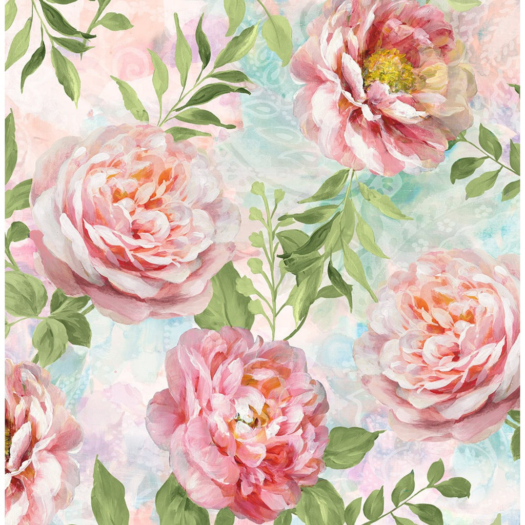 Wilmington Prints, Wild Blush Peonies Fabric