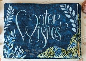 Wilmington Prints Water Wishes Book Fabric Panel