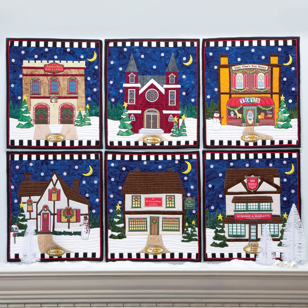 Dickens Village Pattern Set