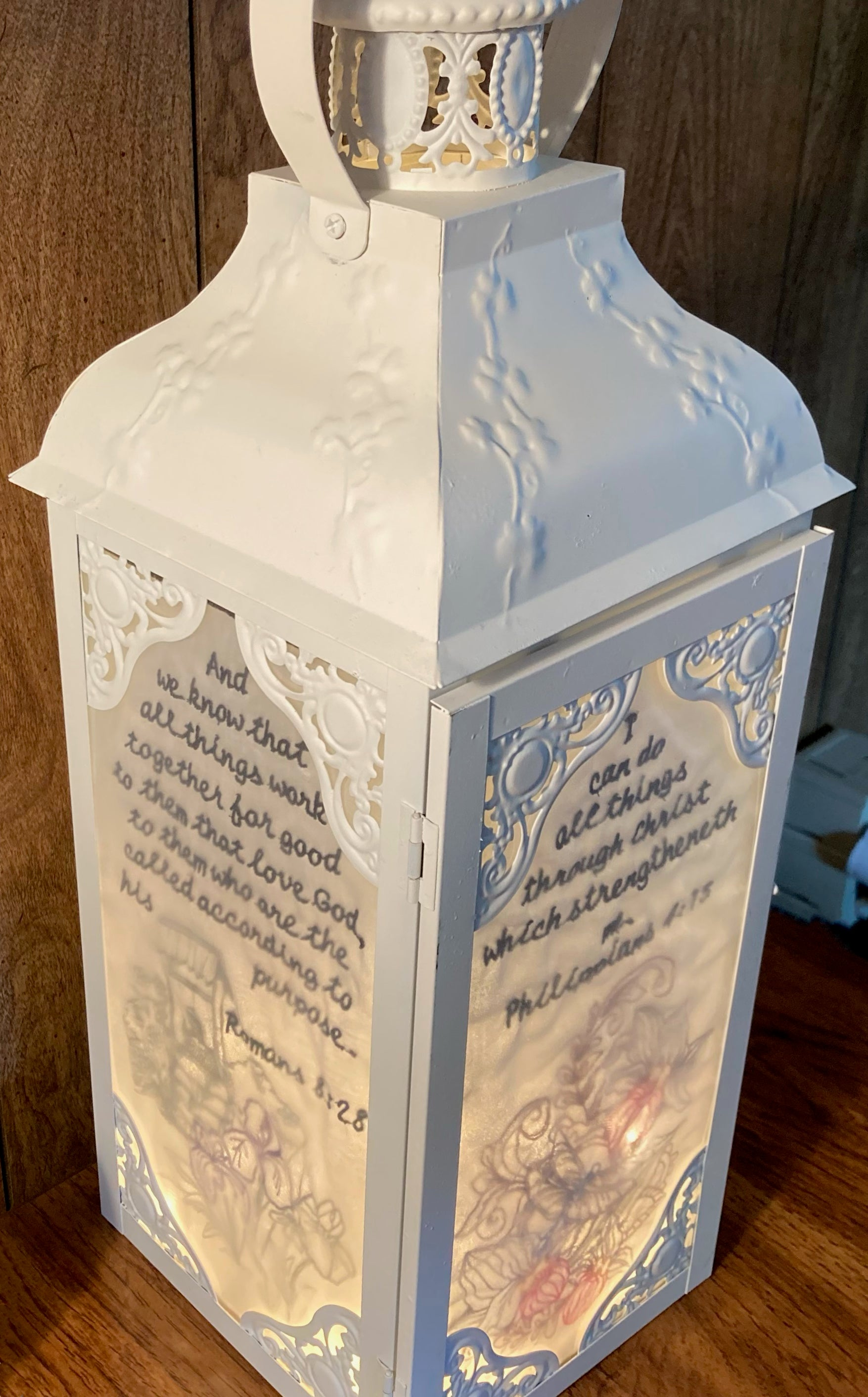 Ruth's Lantern July Featured Maker