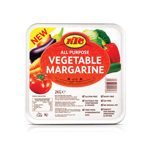KTC Soft Vegetable Margarine Spread 6 x 2kg