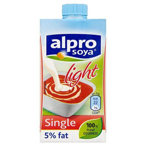 Alpro Soya UHT Single Cream Light 15 x 250ml
