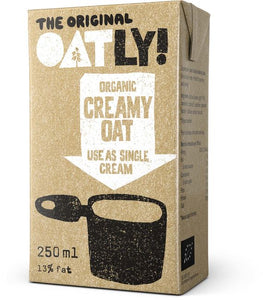 Oatly Cream Organic 18 x 250ml