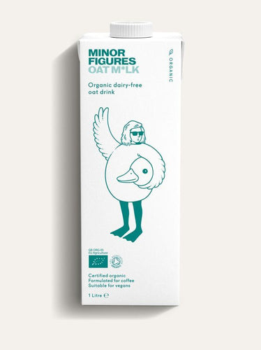 Minor Figures Oat Milk Organic 6 x 1ltr