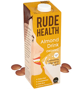 Rude Health Almond Drink Organic 6 x 1ltr