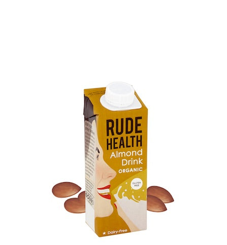 Rude Health Mini Almond Milk 10 x 250ml