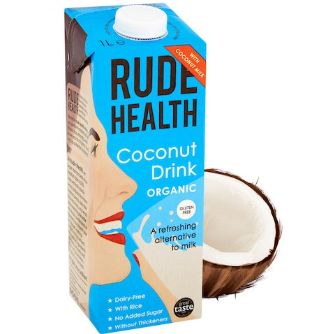 Rude Health Coconut Drink Organic 6 x 1ltr