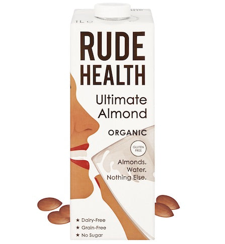 Rude Health Ultimate Almond Drink Organic 6 x 1ltr