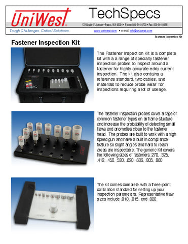 Fastener Inspection Kit