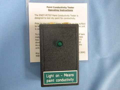 Paint Conductivity Meter