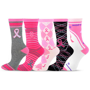 Breast Cancer Awareness Socks