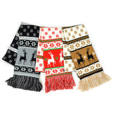 Winter Unisex Double Layer Scarves 3-Pack (Winter-3) - TeeHee Socks