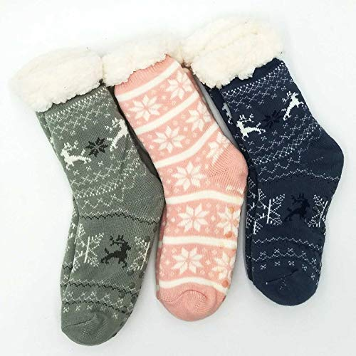 TeeHee Socks Women's Double Layered Polyester Crew Animal Print 3-Pack (12275)