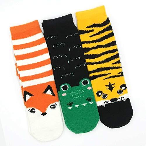 TeeHee Socks Women's Fuzzy Polyester Crew Assorted 3-Pack (R2011)