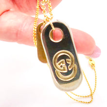 Load image into Gallery viewer, Super Chic Vintage Gucci Pulls - Dog Tag Set - Or Singles
