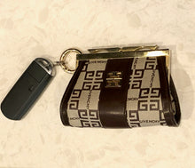 Load image into Gallery viewer, Givenchy Kisslock coin purse micro Convertible Key Case Bum Bag Crossbody