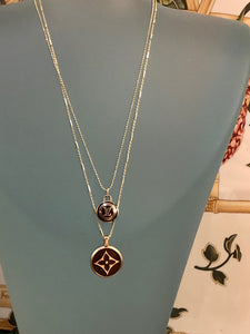 LV Button Used as Pendant
